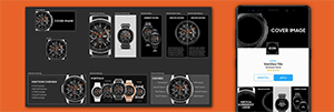 If you're serious about your watch face designs appealing to a wide audience, it's important to put thought and effort into how your content is displayed in the Galaxy Store. This Photoshop template uses multiple artboards and the Generate Image Asset feature to greatly reduce your design time.