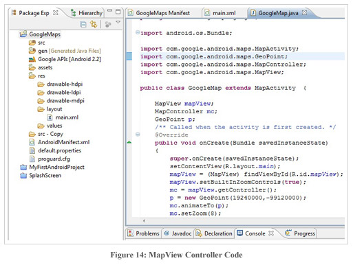 Figure14:MapView Controller Code