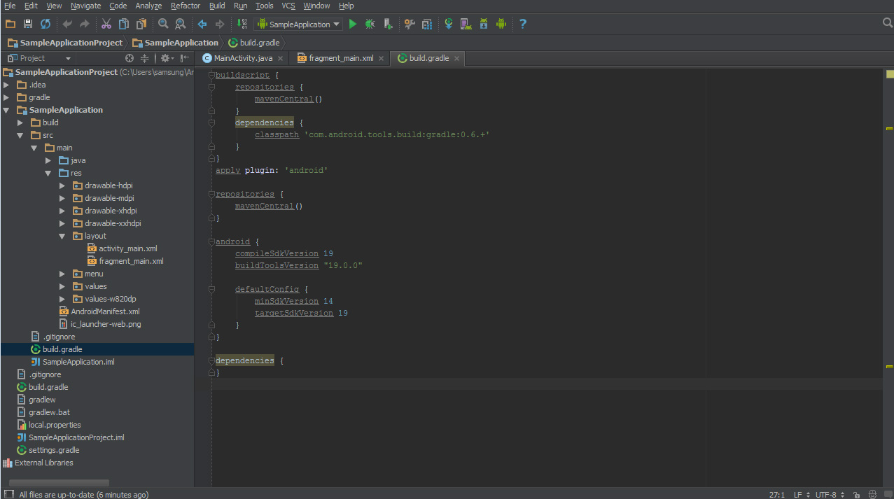how to add an image to andoird developer studio