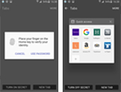 One Browser for all Samsung Galaxy devices