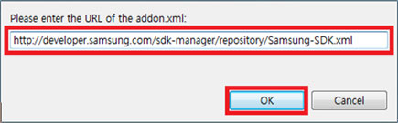 Add Repository dialog box