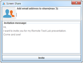 Writing an invitation message